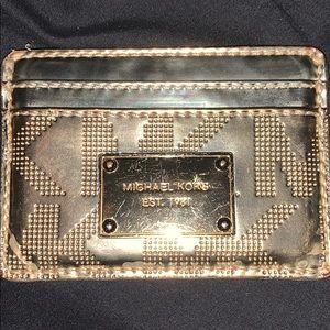 micheal kors card wallet